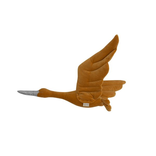 Stork velvet mustard