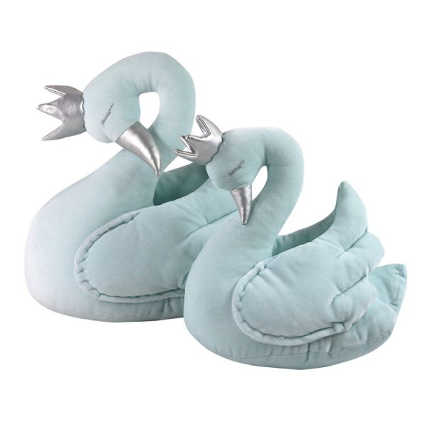 Mint velvet swan with a crown